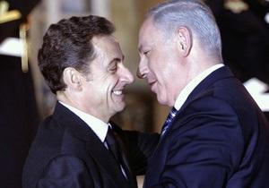 Саркози после нелестных высказываний в адрес Нетаньяху заверил его в своей дружбе