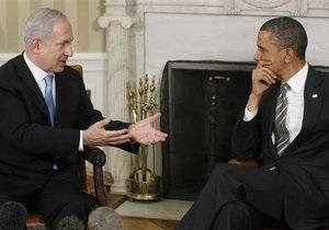 Нетаньяху и Обама разошлись во взглядах относительно границ Палестины