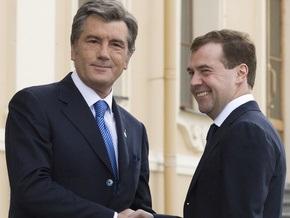 СМИ: Ющенко и Медведев встретятся без слов