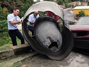 В Бразилии самолет при взлете потерял турбину
