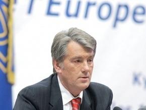 Ющенко призвал ЕС упростить визовый режим для украинской молодежи