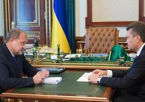 Янукович уверен, что в лице Могилева Крым получил  эффективного хозяина и менеджера
