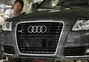 Audi сократила поставки авто впервые за 14 лет