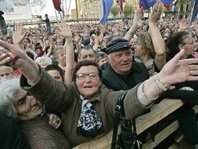 Грузинская оппозиция объявила всеобщую тревогу и мобилизацию