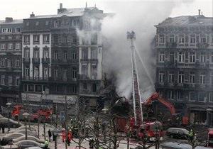 В Бельгии обрушился жилой дом. Под завалами есть люди