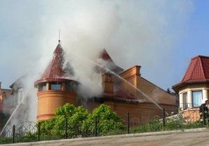 Источник: Пострадавший в результате пожара дом на Оболони принадлежит экс-замглавы Гостаможни