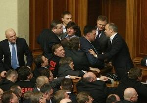 Новая Рада - Партия регионов будет контролировать новые решения Рады до конца 2013 года - Ъ