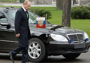 Водитель Путина избежал штрафа за езду без номеров