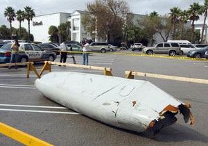 В Майами с неба упала часть фюзеляжа грузового Boeing