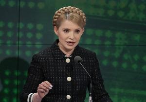 Тимошенко: Идеологией Януковича является  государственная клептомания