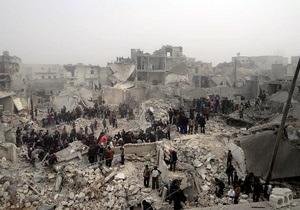 Сирийский Алеппо подвергся ракетному обстрелу, 25 погибших и десятки погребены под завалами