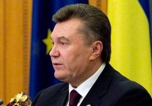 Янукович завтра поедет в Россию на заседание глав государств СНГ