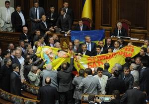 Верховная Рада приняла в первом чтении резонансный законопроект о языках