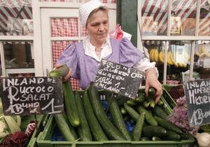 Еврокомиссию возмутил запрет России на ввоз овощей из стран ЕС