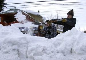Предгорье Анд в Чили объявлено зоной катастрофы из-за холодов и снегопадов