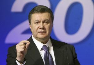 Президент Янукович рассказал, какими будут его первые указы