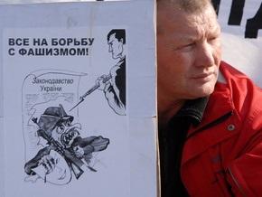Коммунисты и ВО Свобода встретились на выставке об УПА в Кировограде