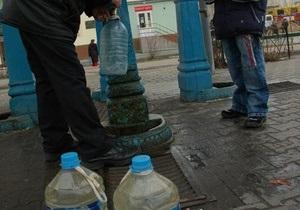 Власти Киева оставят бюветы бесплатными для населения