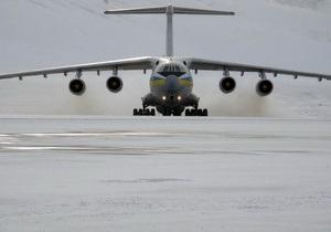 Ил-76 с украинцами на борту вылетел из Ливии