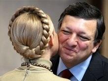 Тимошенко и Баррозу поговорили об отмене виз для украинцев