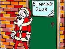 Санта Клаус протестует против толстых детей
