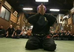 В Японии остались последние из ниндзя: отец и сын