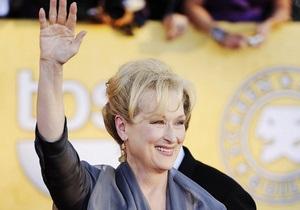 Мэрил Стрип получила почетного Золотого медведя за заслуги в кино