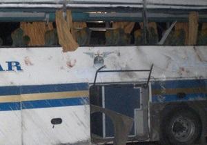 В Египте разбился автобус с российскими туристами, погибли два человека