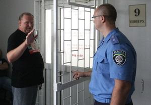 ГПС: Яценюк, Турчинов и Немыря пытались повредить двери, нанося по ним удары руками и ногами