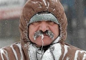Погода в Украине - В Украине в ближайшие дни мороз усилится, но потом наступит кратковременное потепление