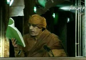 Каддафи заявил, что за ним - миллионы