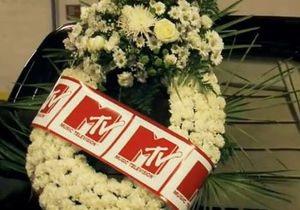 MTV прорекламировал новое шоу похоронной процессией