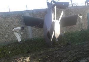Во время спецоперации против бин Ладена США использовали вертолеты-невидимки