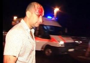 Очевидцы ДТП на мосту Патона: Милиционер сбил врача, который пытался помочь пострадавшему