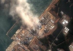На АЭС Фукусима-1 горит хранилище отработанных ядерных отходов