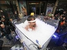Установлен рекорд длительности пребывания во льду