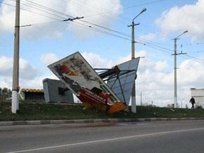 Шквальный ветер сорвал крыши с домов на Закарпатье