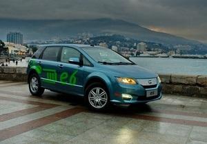 В Крыму проходит первый в Украине автопробег электромобилей