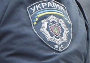 новости Украины - милиция - протесты - В Черкасской области сотрудники милиции провели акцию протеста, заблокировав трассу