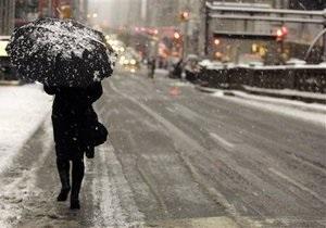 На Вашингтон обрушился ледяной дождь