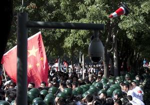 В Китае возобновились антияпонские протесты из-за спорных островов