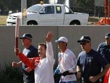 В столице Австралии начался очередной этап эстафеты Олимпийского огня