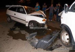 новости Киева - СБУ - ДТП - ДТП в Киеве: Нетрезвый водитель угрожал связями в СБУ, разбив несколько машин