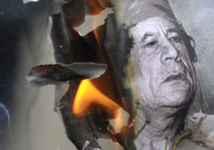 Экс-министр МВД Ливии прогнозирует гибель Каддафи в течении нескольких дней
