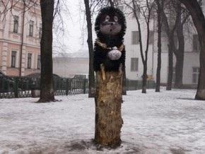 В Киеве возле памятника Ежику в тумане строится площадка для посетителей
