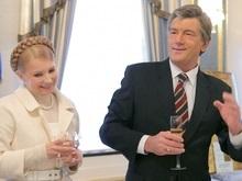 Ющенко отбыл в Бельгию без Тимошенко