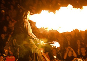 В июне в Киеве пройдет фестиваль огненного искусства Kiev Fire Fest
