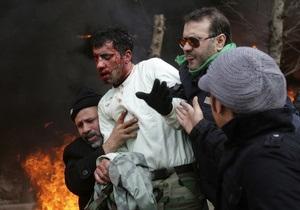 Фотогалерея: Новая война на улицах Ирана