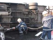 Волна ДТП в Украине
