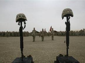 В августе НАТО потеряло максимальное количество солдат в Афганистане с начала войны